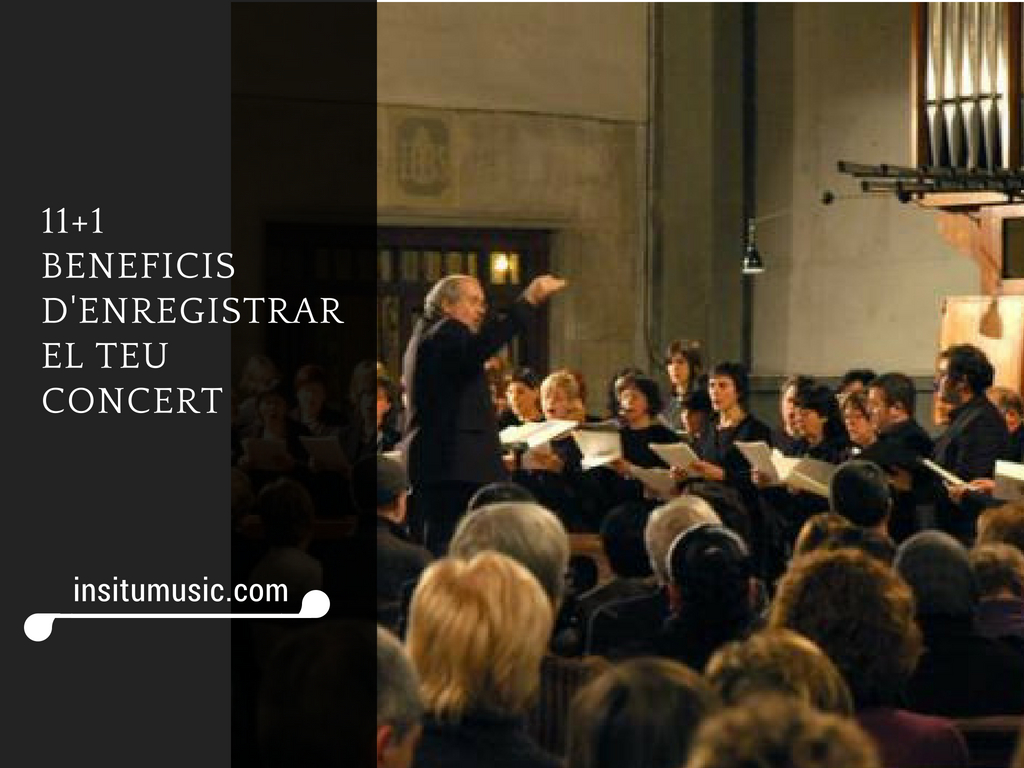 beneficis enregistrar concert - InSitu