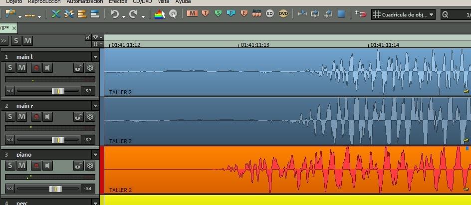 Fases en el áudio